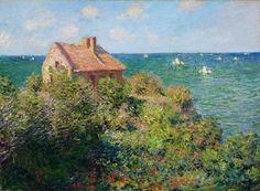 Claude Monet, Fisherman's Cottage on the Cliffs at Varengeville, 1882