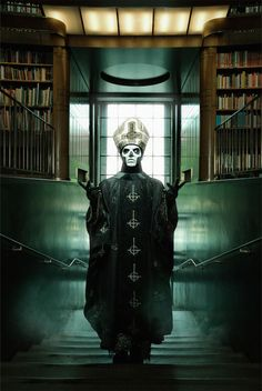 an interview w/ Ghost (on Snoop Dogg, Satan, Pope Francis, Dave Grohl, their metal-ness & more) ++ updated tour dates Band Ghost, Ghost Bc, Dubstep, Great Bands, Cool Bands, Ghost Banda, Ghost Papa Emeritus, Ghost And Ghouls, Arte Horror