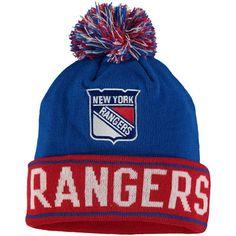 cb31c12c574 New York Rangers Old Time Hockey Washburn Cuffed Knit Hat - Blue New York  Islanders