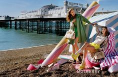 The magical and sunny world of Tim Walker filled with delicious treats for Mulberry SS 2012 l #fashion #sea