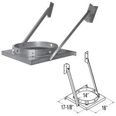 12'' DuraTech Tee Bracket - 99272GA ** You can find more details by visiting the image link.