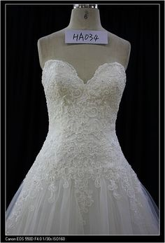 Style ha034  - Strapless ball gowns Wedding Dress