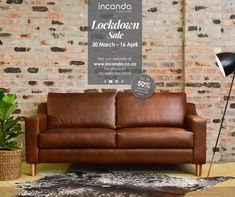 Get our signature combination. Our full grain Oryx leather and Blackwood Douglas at a discount. This offer is only applicable for the size of the design in Oryx leather, available in Butterscotch and Regal Cora, and Blackwood legs. Leather Furniture, Couches, Furniture Making, Sale Items, Love Seat, Website, Design, Home Decor, Decoration Home