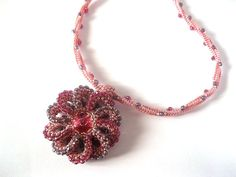 Hey, I found this really awesome Etsy listing at https://www.etsy.com/il-en/listing/261135897/on-sale-beaded-elegant-necklace-pink