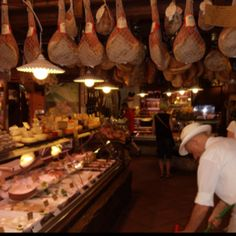 My favorite cheese shop in Bologna.