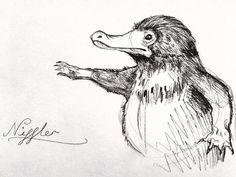 Niffler by jessburnett on DeviantArt