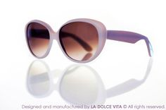Limited edition - 100% Made in Italy. Designed and manufactured by La Dolce Vita Srl. #LaDolceVita #Velvet #Sunglasses #Fashion