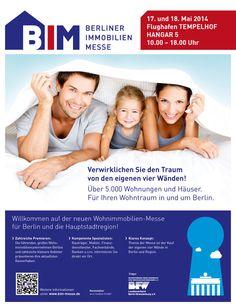 Berline Immobilien Messe 2014 - http://www.exklusiv-immobilien-berlin.de/immobiliennews-berlin/berline-immobilien-messe-2014/003964/