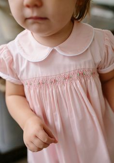 Smocked Charlotte Dress - Smocked Charlotte Dress– Little English - Smocked Baby Clothes, Girls Smocked Dresses, Little Girl Dresses, Smocked Dresses For Toddlers, Smocked Clothing, Cute Baby Dresses, Little Girls, Baby Girl Dress Patterns, Children's Dress Patterns