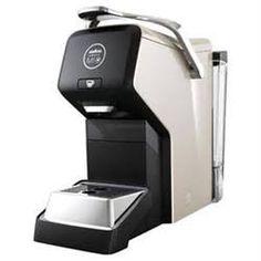 AEG Lavazza Coffee Pod Machine : Ebony Black