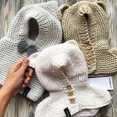 Cute bear baby hoodie