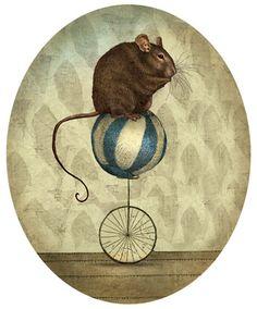Julian De Narvaez - mouse unicycle