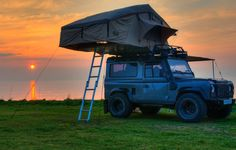 land rover defender tent roof - Google Search