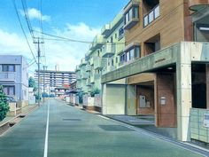 Anime Landscape: City
