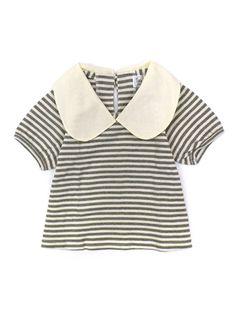 stripes + collar.