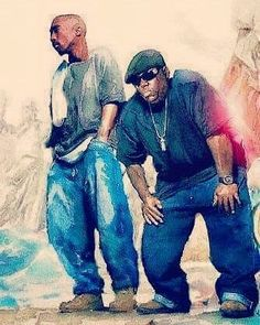 2Pac & Notorious B.I.G. Art