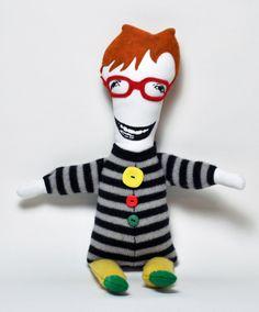Nico OOAK Art Doll by KLTworks on Etsy