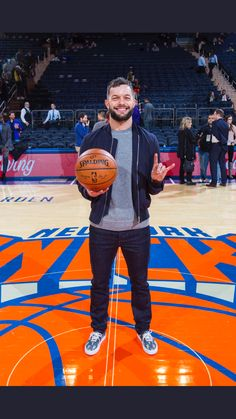FINN BALOR at the New York Knicks game.