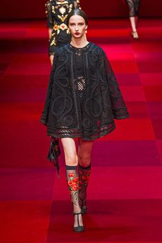 Dolce & Gabbana spring/summer 2015 ready-to-wear collection. #rtw #style #sicily #dress