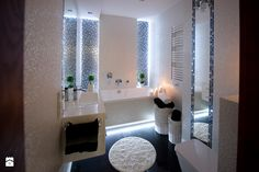 Bathroom Design – 35 Modern And Creative Bathroom Ideas Mosaic Bathroom, Bathroom Spa, Diy Bathroom Decor, Bathroom Designs, Mosaic Tiles, Bathroom Ideas, Rustic Bathrooms, Beautiful Interiors, Home Decor Inspiration