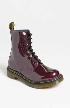 Throwback Thursday: Dr. Martens. So cute in purple.