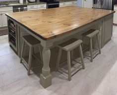 Decorating Your Home in Style Rustic Stairs, Wooden Counter, Coastal Furniture, Counter Top, Decorating Your Home, Dining Table, Trading Company, Big Fish, House Styles