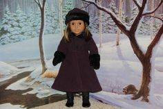 American Girl Doll of Today 2001  Sugarplum Coat  - COMPLETE-RETIRED-RARE
