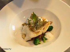 John Dory Fish with Fresh Homemade Pasta and Spicy Olives John Dory Fish, Homemade Pasta, Fish Dishes, Fish And Seafood, Olives, Spicy, Dessert, Vegan, Fresh