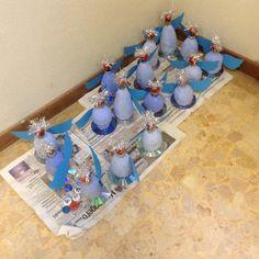 Natale.Angeli con riciclo bottiglie