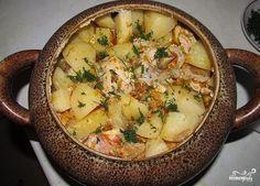 Мясо по-французски в горшочках - пошаговый кулинарный рецепт с фото на Повар.ру