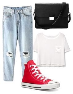 """""""Untitled #128"""" by girlybunny on Polyvore featuring MANGO, Converse and Aspinal of London"""