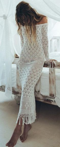 Boho Chic 60 Trending Boho Summer Outfits From The Popular Brand : Spell & The Gypsy… Shift Dresses, White Maxi Dresses, Women's Dresses, White Dress, Dress Red, Casual Dresses, Hippie Style, Bohemian Style, Hippie Boho