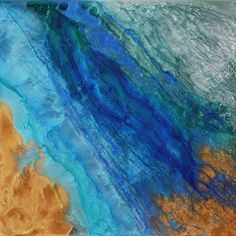 "Saatchi Art Artist Lia Melia; Painting, ""Beach Life; sold"" #art"