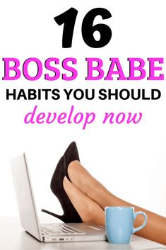 Boss Babe Habits to Develop Now! Here are 16 boss babe habits to develop now! Here are 16 boss babe habits to develop now! Boss Babe, Girl Boss, Self Development, Personal Development, Leadership Development, Productive Things To Do, Life Coach Training, Self Improvement Tips, Good Habits