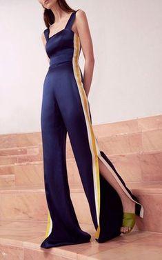 Luisana Side Stripe Jumpsuit by Alexis Pre-Fall 2018