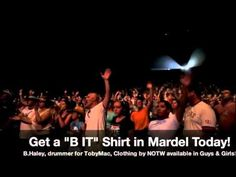 B. Haley, drummer for tobyMac, shares his heart for his t-shirt line, B. It.