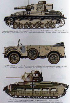 DAK fighting vehicles