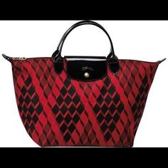 22c2ff128e4 Printed Longchamp Bag in a favorite color in France. Festive and practical  too!
