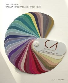 Colour palette: Light Crystaline Summer