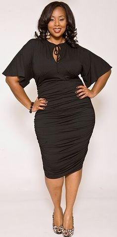 c2a0daed1d26 34 Best Plus size black dress images in 2014 | Plus size black ...