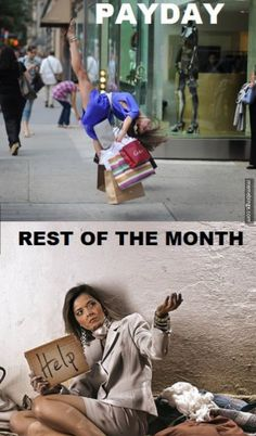 How shopaholics spend their lives