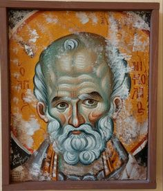 Fresco, Santa Pictures, Saint Nicholas, Raggedy Ann, High Art, Orthodox Icons, Saints, Byzantine, Middle Ages