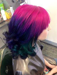Nikki's amazing color!