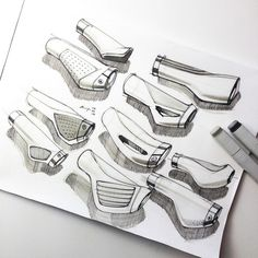 Pin by Marten Blaauwbroek on Product sketching | Pinterest