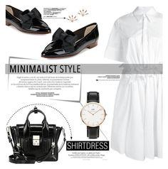 """Minimalist Style"" by yurisnazalieth ❤ liked on Polyvore featuring Victoria, Victoria Beckham, Post-It, 3.1 Phillip Lim, Kate Spade, Daniel Wellington and Pamela Love"
