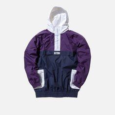 Kith Walker Anorak - Purple / Navy