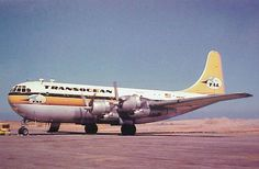 Tal Transocean Air Line Boeing B377 Stratocruiser Post Card | eBay