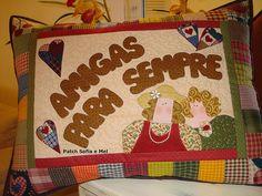 Almofada amigas para sempre | Essa é da Celinha Villar | Flickr
