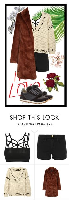 """""""Untitled #528"""" by darasylviaa ❤ liked on Polyvore featuring Frame, Isabel Marant and Brunello Cucinelli"""