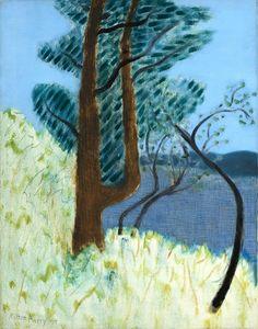 Milton Avery - Trees by the Bay